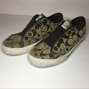 Coach Slide-on Sneakers | size 6